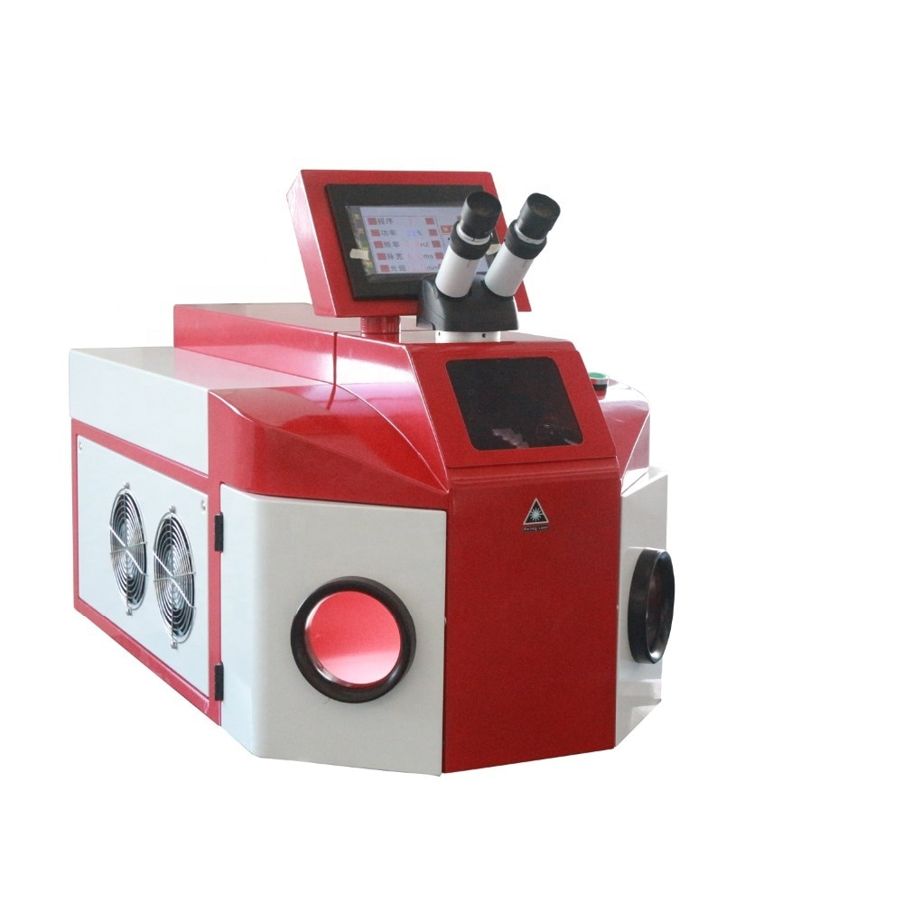 Jewellery Laser Welding Machine Price 100w 200w Jewelry Laser Welder YAG Spot Laser Welding Machine