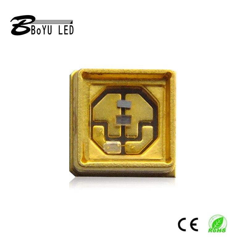 20 pièces UVC haute puissance LED, 270-280nm diode 3535 lampe SMD perles UVA + UVC pour 285nm stérile équipement de désinfection UV