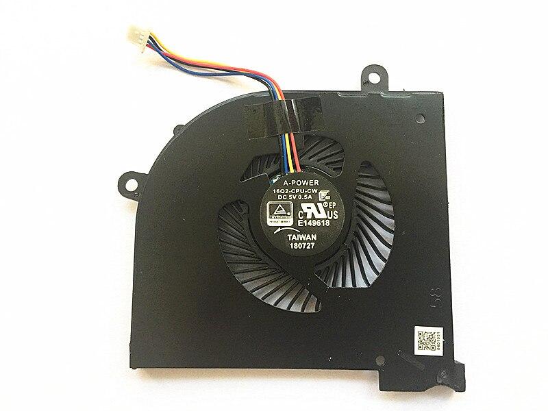 SSEA Nueva CPU ventilador de refrigeración para MSI GS65 GS65VR P65 MS-16Q2 16Q1 16Q3 ordenador portátil CPU