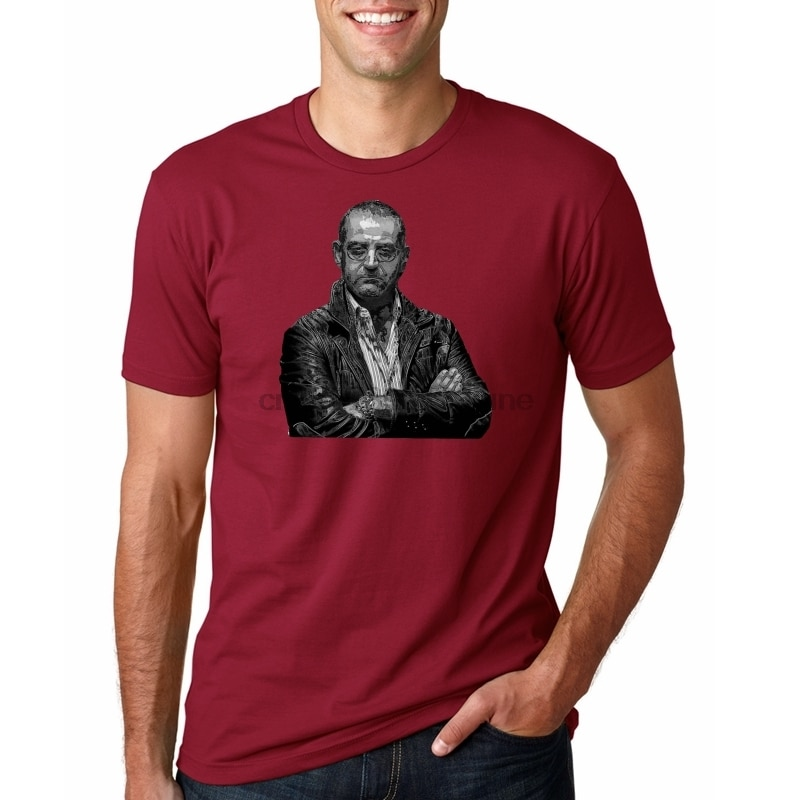 Gomorra Don Pietro camiseta de moda de manga corta últimas camisetas de cuello redondo 100% de algodón para hombre Camisetas populares clásicas de gran tamaño
