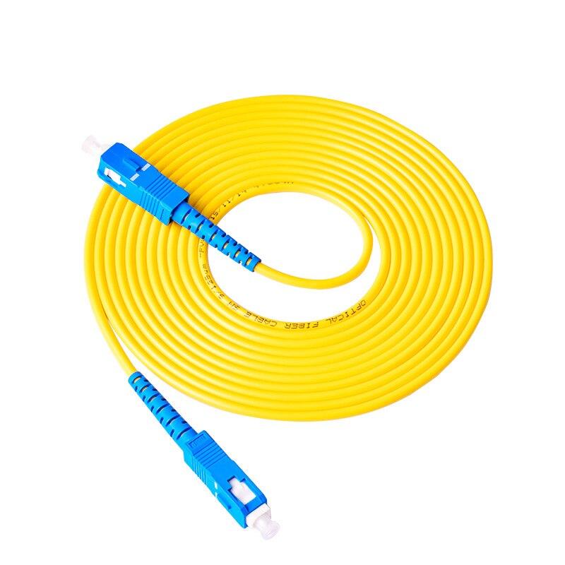 10pcs/lot SC/ UPC-SC/ UPC Simplex mode fiber optic patch cord