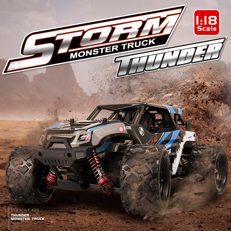 2.4G Racing RC Car 4WD 1:18 Radio Controlled High Speed Car Electric Off-Road Drift Vehicle Remote Control Toys for Children enlarge