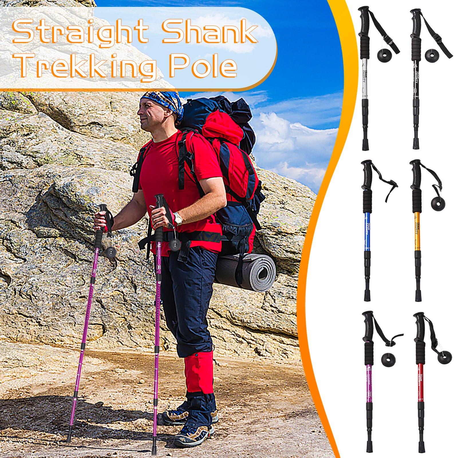 Bastones de caña de alta resistencia para senderismo al aire libre, poste...