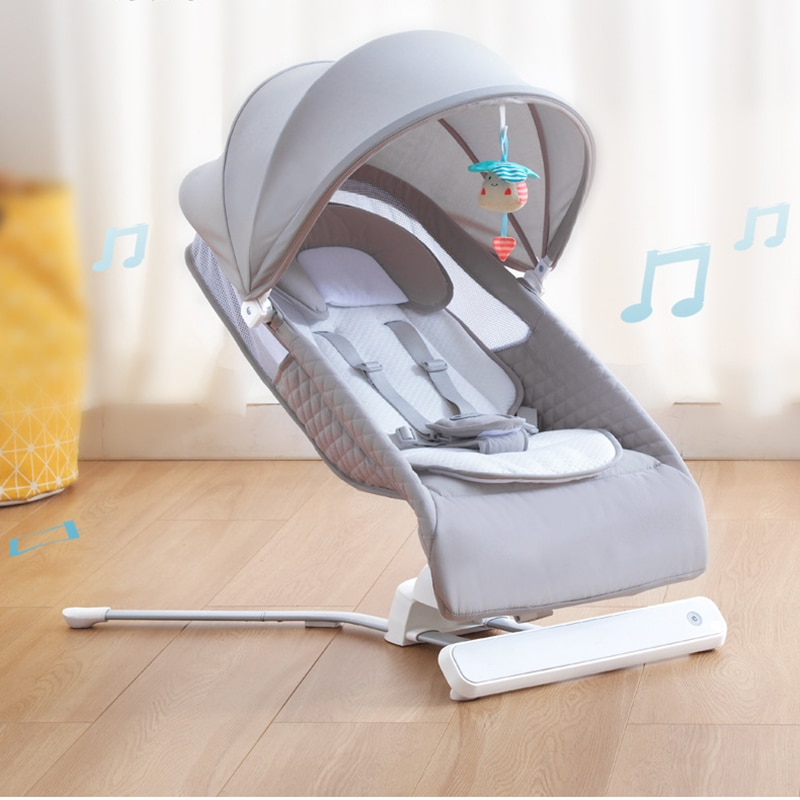 Baby Crib Rocking Chair To Coax The Baby To Sleep Electric Cradle Bed Baby Recliner Home Baby Cradle Multifunctional Crib Cradle enlarge
