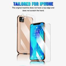 Screen Protectors Tempered Glass 9H Front to Rear Phone Protective Film for for iPhone 11 Pro Max Mo