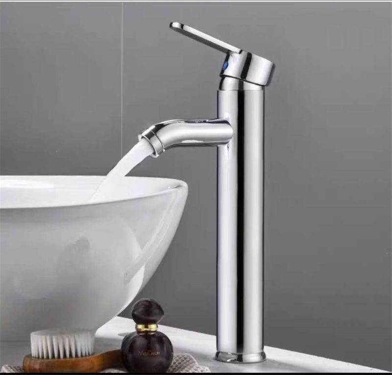 Single Handle Bathroom Basin Faucets Cold/Hot Mixer Basin Sink Tap Black Water Kitchen Faucet Bathroom Accessories
