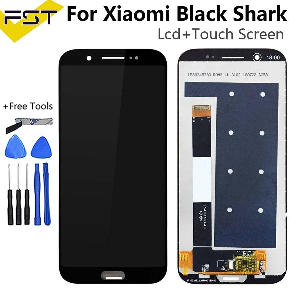 Pantalla LCD negra para Xiaomi Black Shark SKR-A0 + MONTAJE DE digitalizador con pantalla táctil herramientas Sensor de panel de vidrio para Xiaomi Black Shark