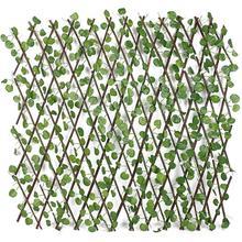 Plante de jardin artificielle clôture rétractable UV protégé écran de confidentialité clôture de jardin arrière-cour maison bricolage décor verdure murs