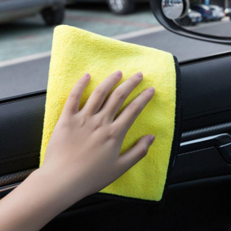 1pc 30*30/30*40/30*60 Auto Waschen Handtuch Mikrofaser Auto Reinigung Trocknen tuch Mikrofaser Waschen Trocknen Handtuch Starken Dicken Plüsch