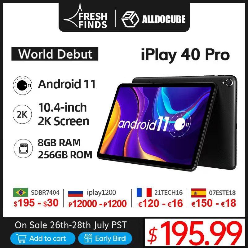 Estreno mundial ALLDOCUBE iPlay 40 Pro 10,4 pulgadas 2K Tablet PC Android...