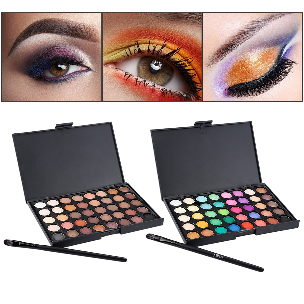 New Fashion Shimmer Matte Eye Shadow Palette Makeup Palette Natural Make Up Cosmetics Set Nudes Palette Pigment Eye Shadow profusion artistry palette eye and cheek