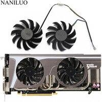 2 шт./Лот Новый 75 мм PLD08010S12HH 0.35A охлаждающий вентилятор ForMSI GeForce GTX 580/570/560/560Ti/480/465/460 GTX770 охлаждающий вентилятор для видеокарты