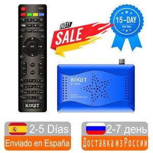 Koqit Mirror Screen Cast DVB-S2 Receptor IPTV Decoder DVB S2 T2-MI Tuner Satellite TV Receiver Satellite Finder Wifi CS Biss VU
