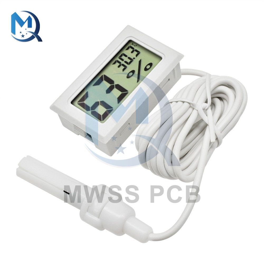cms ve spo2 probe with ecg wave colour lcd display electric multi function visual stethoscope fonendoscopio doktor steteskop Mini Digital LCD Display Thermometer Hygrometer White Professional With Probe Humidity Temperature Meter Indoor Digital LCD