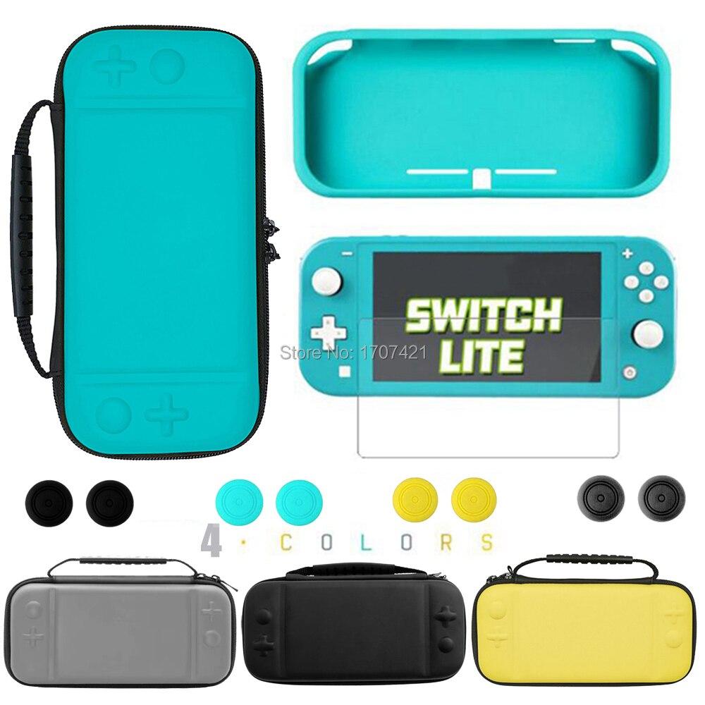 Novo para nintend switch lite caso capa de pele saco de armazenamento de proteção para nintendo switch mini console casos de transporte