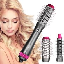 3th génération sèche-cheveux Styler et Volumizer une étape brosse à Air chaud défriser les cheveux bigoudi outil de coiffure sèche-cheveux électrique