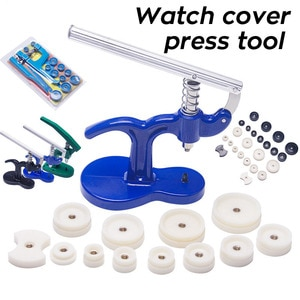 Watch Case Press Tool Watch Fitting Dies Back Cover Remover Closer Pressing Machine Watch Capper Watchmaker Repair Kit Tools