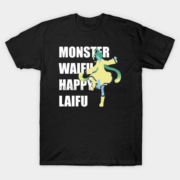 Camiseta para hombre Monster Waifu Suu Monster Musume, camiseta para mujer, camiseta top