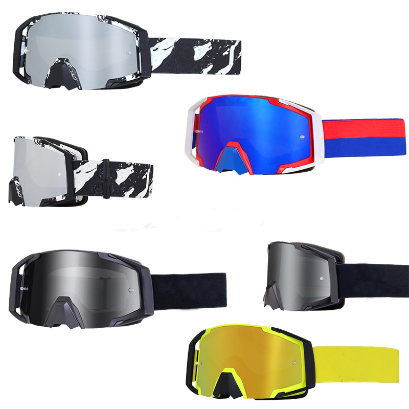 TNOOG Motorcycle Goggles Outdoor Cycling Motocross Helmet Glasses Ski Off-Road Racing Riding Mirror Dirt Bike Gear For Man Woman