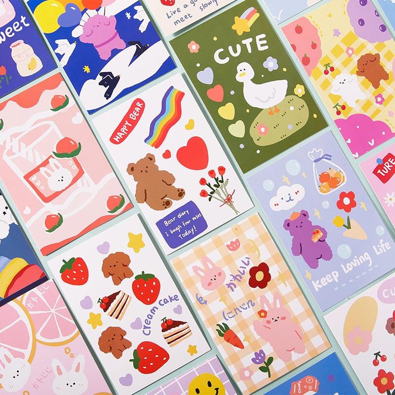 tarjeta-postal-de-planetas-de-animales-tarjeta-de-felicitacion-para-escribir-bricolaje-diario-pegatina-de-pared-accesorios-de-fotos-papel-de-mensajes-papeleria-30-uds