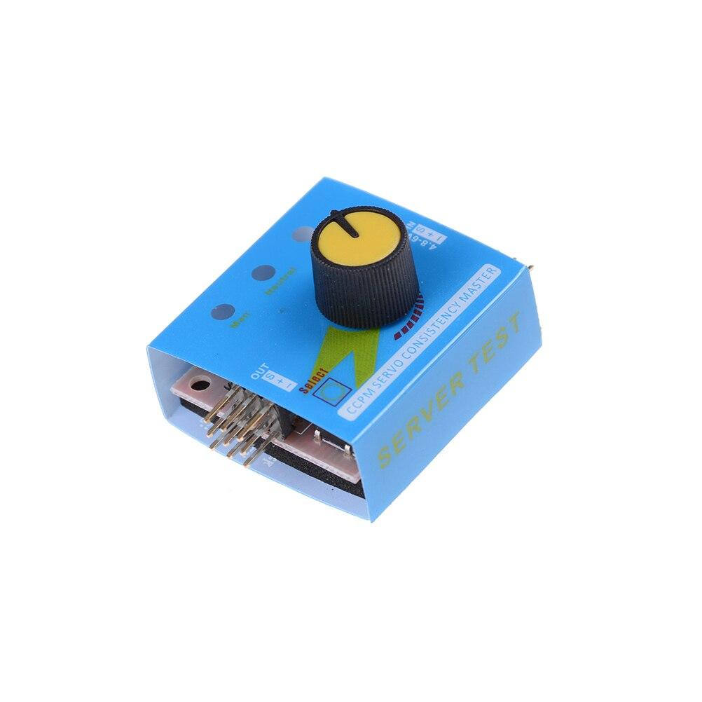 Мульти тестер сервоприводов 3CH ECS консистенция скорость контроллер мощность канала CCPM метр Мастер Checker RC Дрон Вертолет Части RC Хобби