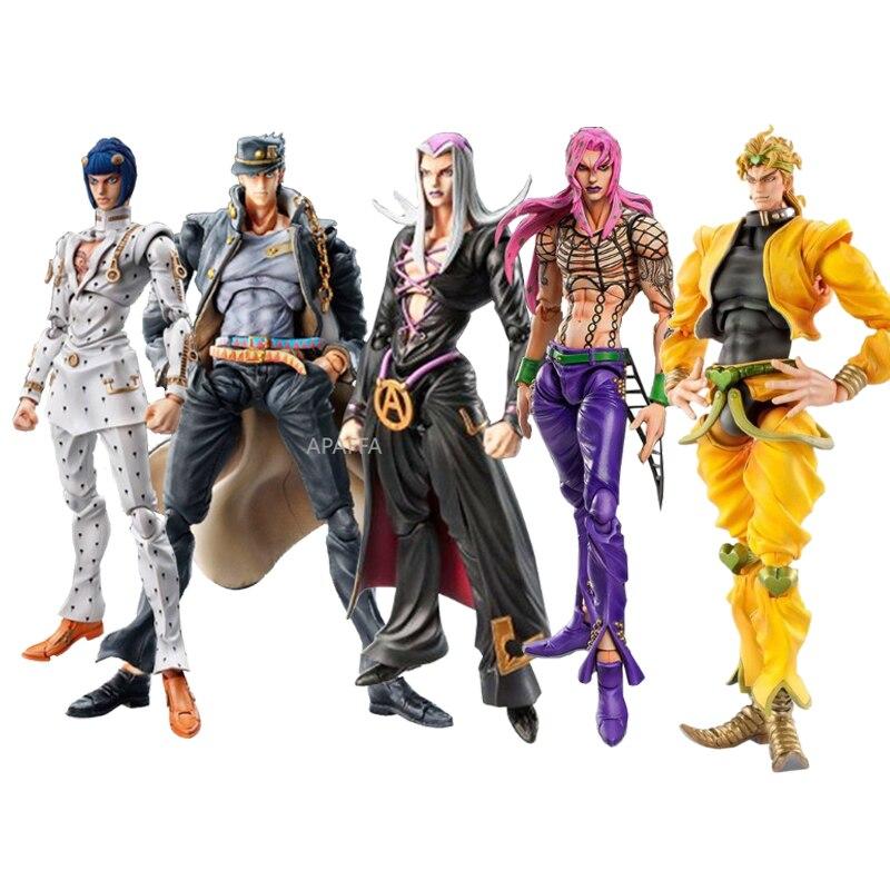 شخصية حركة متحركة من Anime JoJos ، مغامرة غريبة ، 15 سنتيمتر ، Diavolo ، Bruno ، Bucciarati ، Giorno ، Giovanna ، lion ، Abbacchio Kujo Jotaro