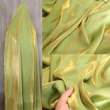 Avocado grün glas silk tuch reine baumwolle seidige glänzend seide tuch garment hosen kleid hochzeit kleid designer stoff großhandel
