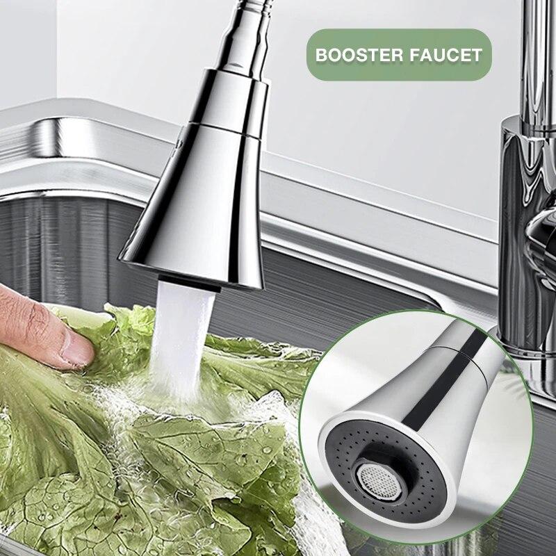 360 ° поворотный кран опрыскиватель поворотный напорный кран бустер Кухня Ванная комната расходные материалы для кухни насадка на кран