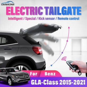 Intelligent electric tailgate Car Modified Kick Sensor Remote Control Automatic Lifting For Mercedes Benz GLA Class 2015-2021