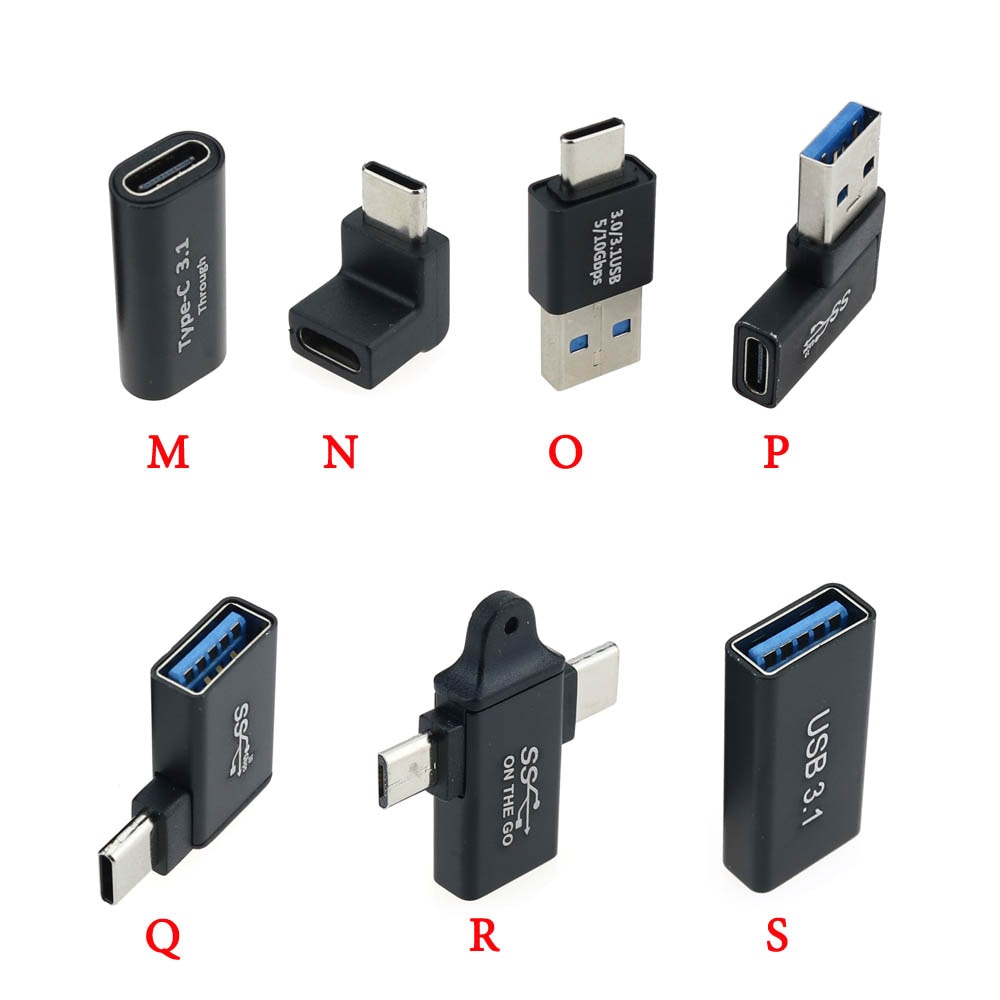 AliExpress - 1pc USB Adapter Type C Male To USB3.0 Female USB To Type C Micro OTG Connector USB 3.0 to USB C Cable Mini Adapter Converter
