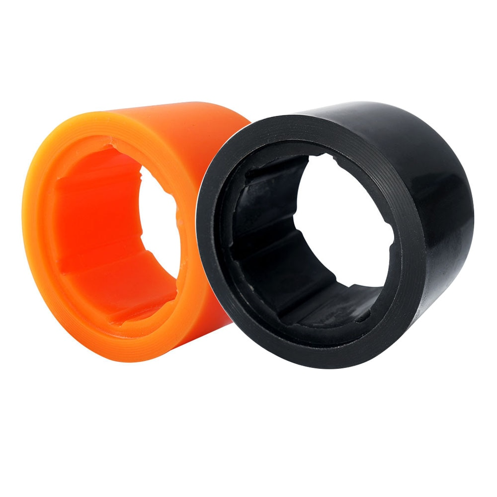 Neumáticos Maytech 1 Uds PU para Motor de cubo Maytech 90mm MTO9055HBM-100-HA neumáticos de Color naranja/negro para patineta eléctrica Longboard