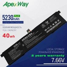 ApexWay 7.6V 5230mAh R13B01W R13B02W New Laptop Battery For Xiaomi Mi Air 13.3