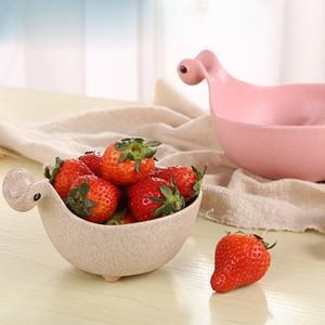 Wheat Fiber Baby Food Storage Bowl Dinosaur Kids Dinnerware Environmentally Dinnerware Feeding Plate Dishes For Infant