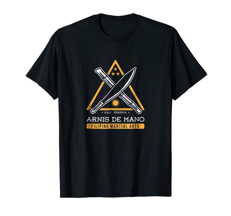 brand men shirt Kalis Eskrima Arnis De Mano Filipino Martial Arts T Shirt