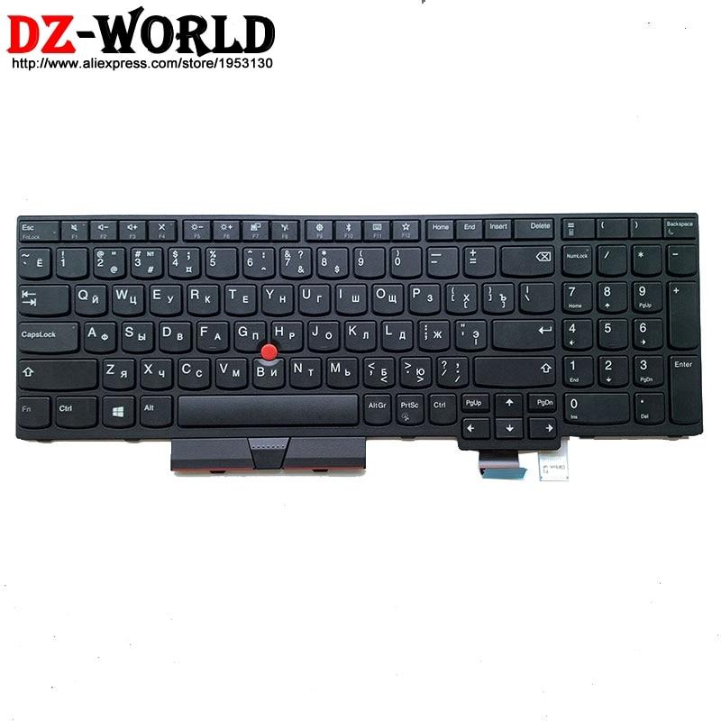 جديد/أوريج RU الروسية لوحة مفاتيح لأجهزة لينوفو ثينك باد T570 P51S T580 P52S محمول روسيا Teclado 01ER523 01EN951 SN20M07870