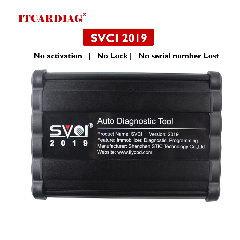 SVCI V2019 FVDI ABRITES Commander Full Version FVDI 2019 Auto Diagnostic Tool No Activation No Lock No serial number Lost