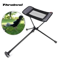 outdoor portable stool collapsible footstool for camping beach chair folding fishing bbq camping chair foot recliner foot rest