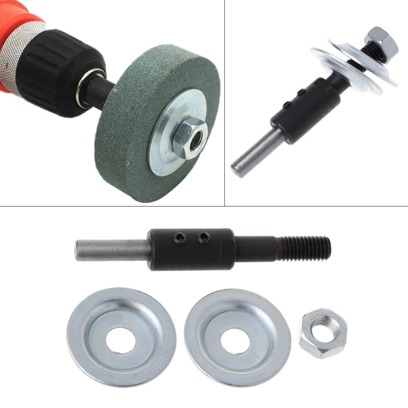 Spindle Adapter Bench Grinder Left Axial For Grinding Polishing 8mm Shaft Motor D0AC