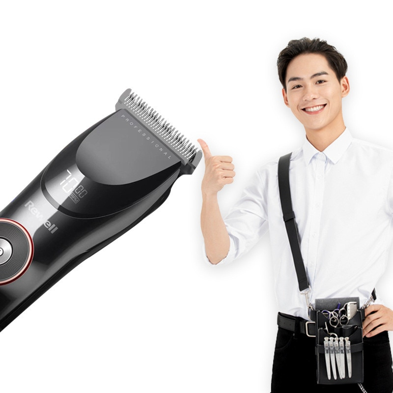 3500mah 10H Hair clipper For Men Washable Rechargeable Hair Trimmer Stainless Steel head Professional Cutting Machine Wireless enlarge