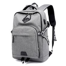 PG12 New men's and women's leisure backpack USB rechargeable computer bag outdoor sports travel back