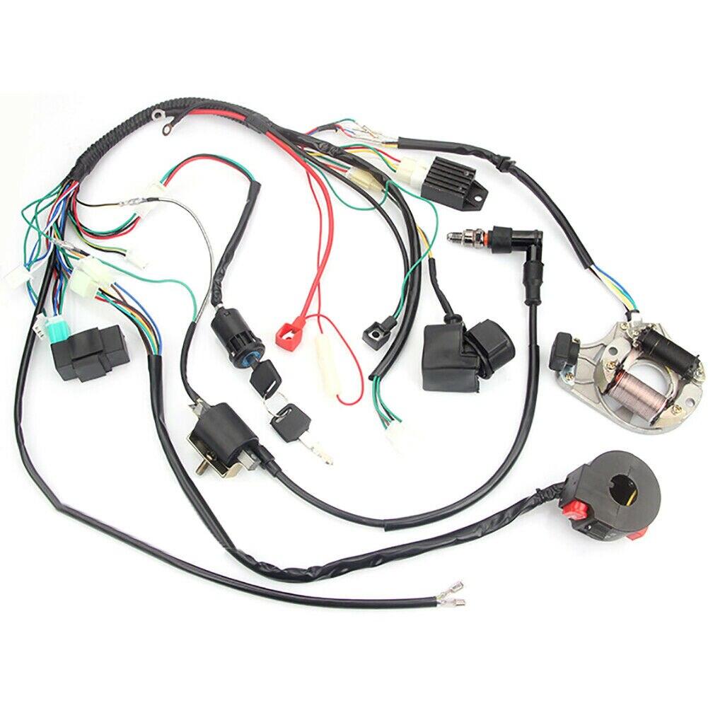 تسخير سلك الإشعال CDI ذو 5 سنون لـ ATV 50/70/90/110/125CC 4 Stroke
