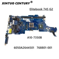 for hp 845 g2 745 g2 motherboard 768801 601 768801 001 a10 7350b 768801 501 6050a2644501 mb a02 tested 100 work original
