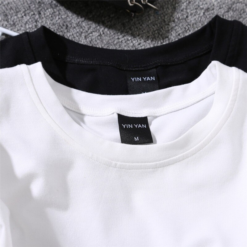 Kawaii Print T Shirt Women Harajuku Summer Couples Love Heart Embroidery T-shirt Korean Style Top Tees Female Multi Color