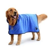 xs xl pet dog bath towel for small medium large dogs 400g microfiber super absorbent pet drying towel