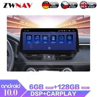 12 3 android 6128g for toyota rav4 2020 2021 car multimedia player radio gps navigation stereo carplay wifi 4g touch screen