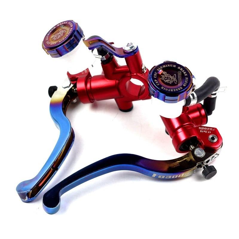 اكسسوارات الدراجات النارية الهيدروليكية الفرامل مضخة لهوندا PCX CBR650R CB500X لياماها MT07 MT09 TMAX 500 530 لكاواساكي Z900