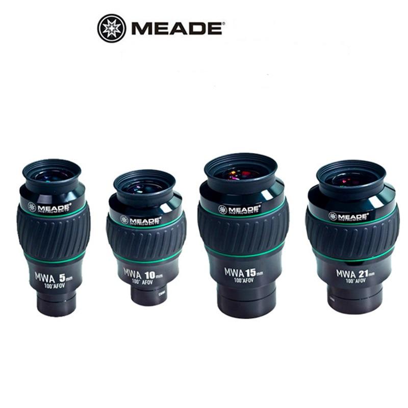 """MWA ultra grandangolare di fascia alta Mead 100 gradi 1.25 """"5mm 10mm osservazione dello spazio profondo oculare impermeabile 2"""" 15mm 21mm"""