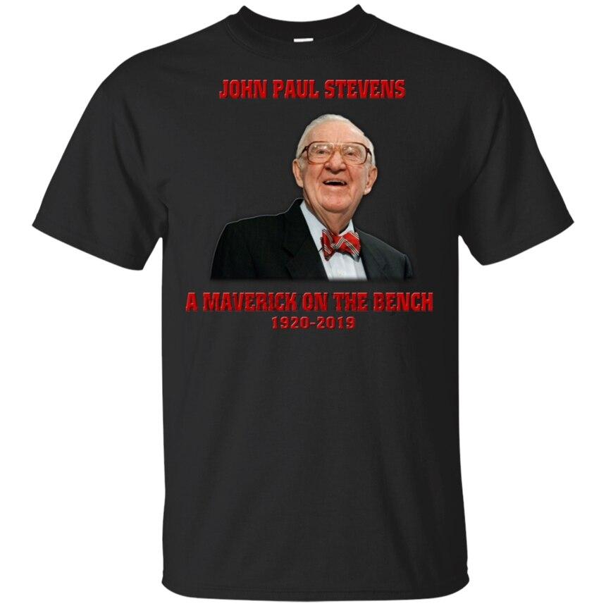 Camiseta John Paul Stevens A Maverick en el banco 1920-Blanco-gris corto hombres 34Th 30Th 40Th 50Th birthday camiseta