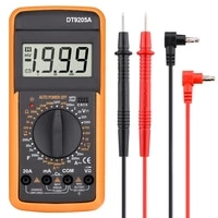 professional multimeter ac dc voltage current resistance capacitance hfe diode tester multimeter professional with bazzer