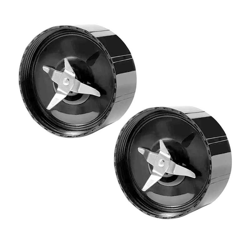 2 Pack Replacement Cross Blade Parts for Magic 250W Blender, Juicer and Mixer, Blender Replacement Parts